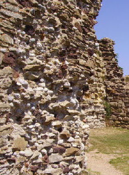 Hastings Castle Wall